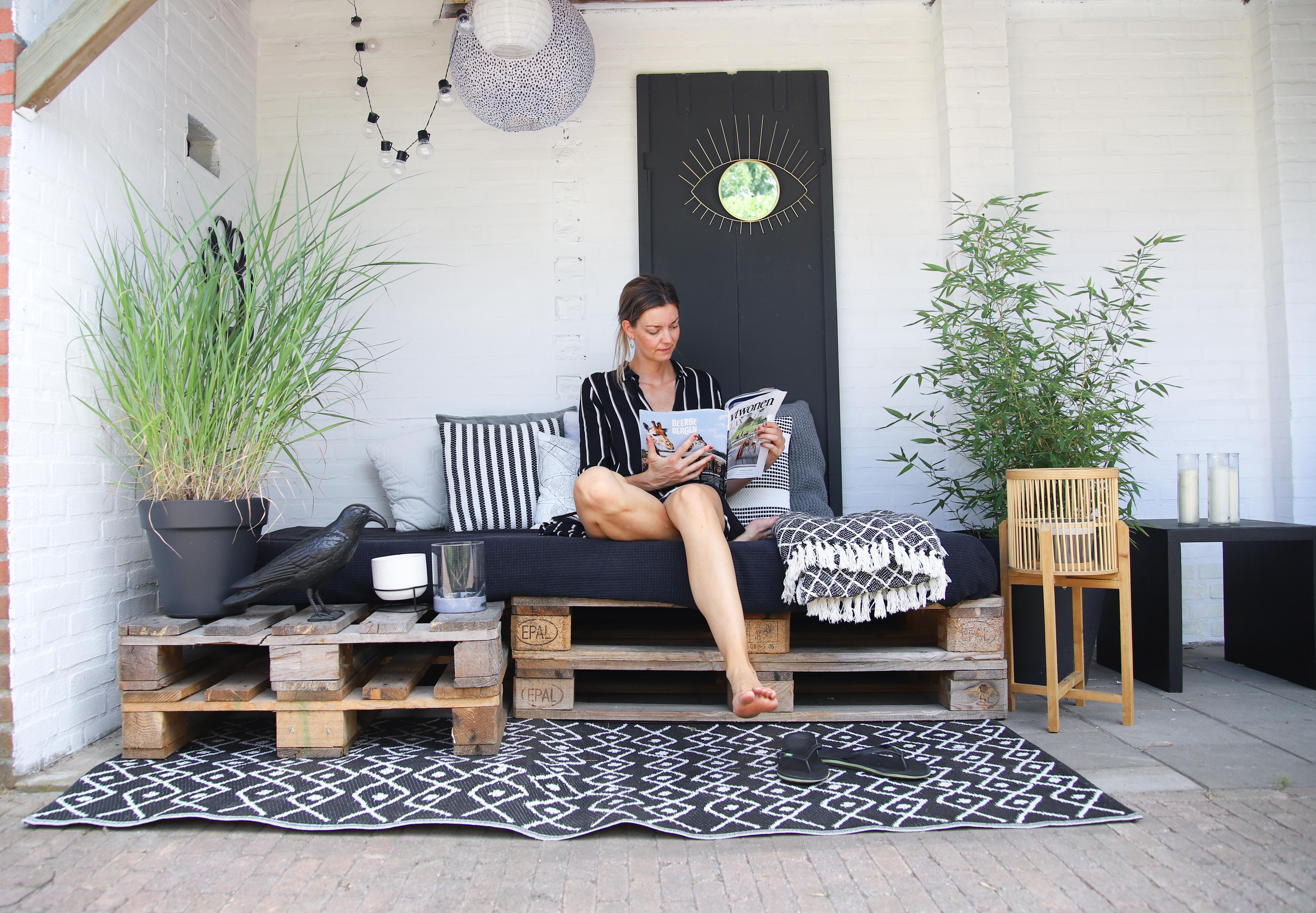 DIY; Budget loungehoek